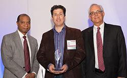 Doug with Award