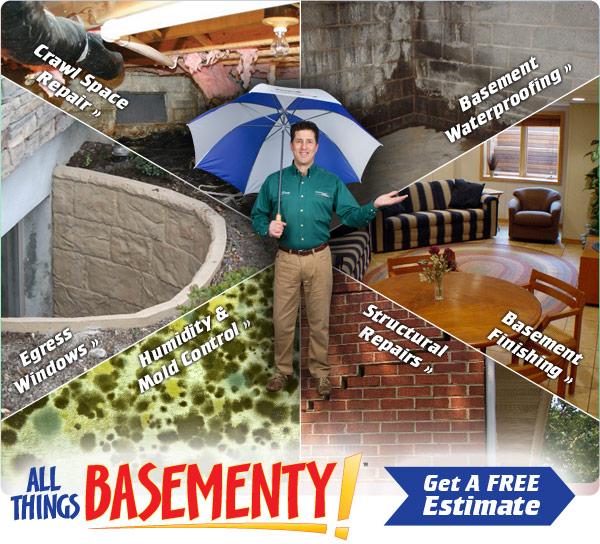 wisconsin basement waterproofing crawl space foundation repair in