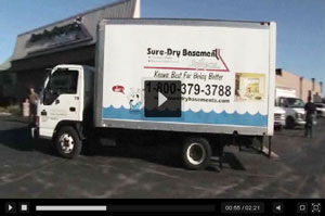 Watch our Video - Sure-Dry Basement Systems